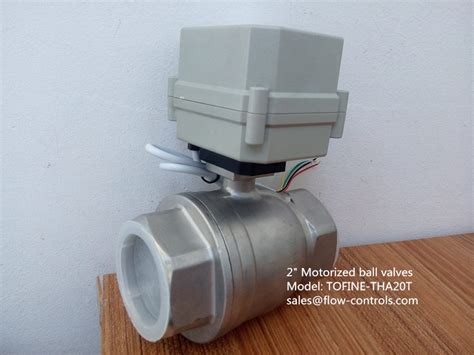 Electric Valve 2 Inch 2 inch 50mm electric actuated valves in china