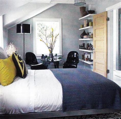 Blue And Grey Bedroom by Blue Yellow Gray Bedroom Contemporary Bedroom