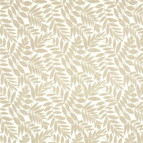 Arbor Upholstery by Arbor Ash Grey And Brown Leaves Woven Upholstery Fabric
