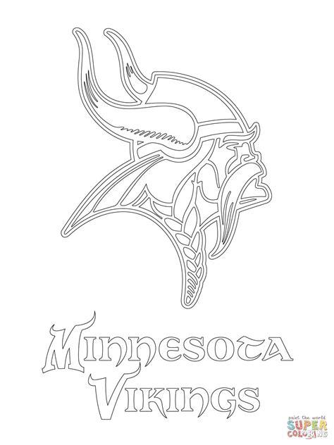 minnesota vikings logo coloring page  nfl category