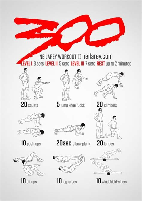 300 workout trains and workout on