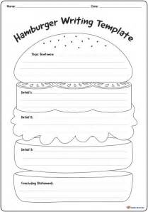 hamburger template printable hamburger writing template k 3 resources