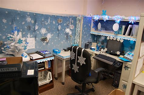 christmas desk ideas decorations in the office how much is much cheer corporate class inc