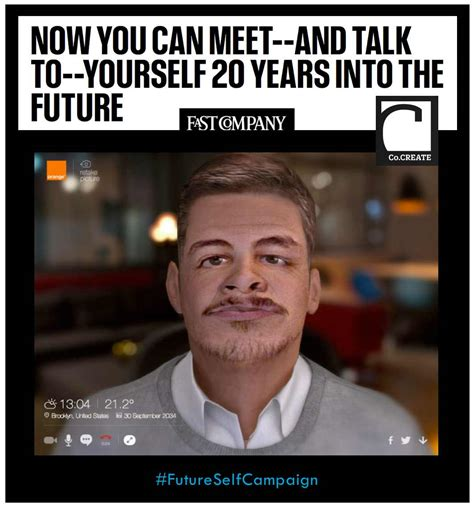 ten years after the future books now you can meet and talk to yourself 20 years into the