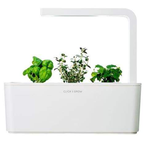 Click And Grow Smart Herb Garden With Basil Thyme And