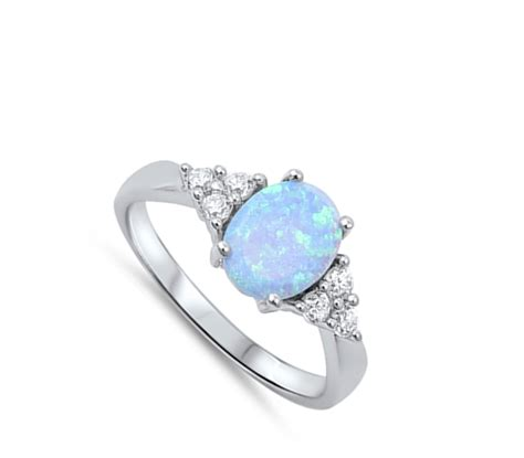 oval ring new 925 sterling silver cluster band ebay