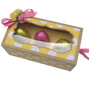 Easter chocolate egg box pazzles craft room