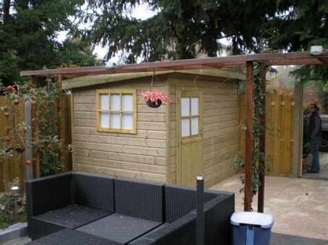 schuur neerzetten tuin huis excellent prachtig luxe tuinhuis laat zich