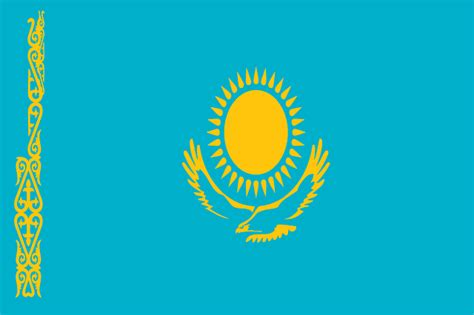 flags of the world kazakhstan what is the largest landlocked country in the world