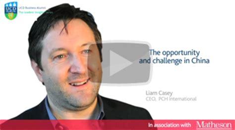 Liam Casey Pch International - ucd business alumni leaders insights series