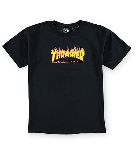 Bb For Boys T Shirt thrasher boys logo t shirt zumiez