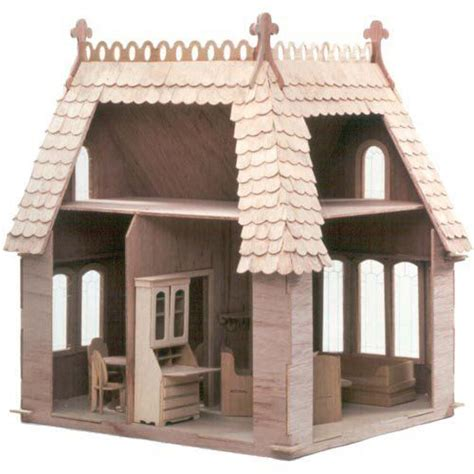green leaf doll houses greenleaf coventry cottage dollhouse kit 1 inch scale
