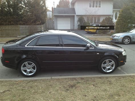 Audi A4 Door by 2007 Audi A4 Base Sedan 4 Door 2 0l