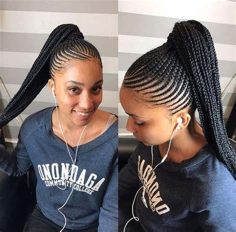 hair pony tail for african hair best 25 black hair braids ideas on pinterest cornrolls