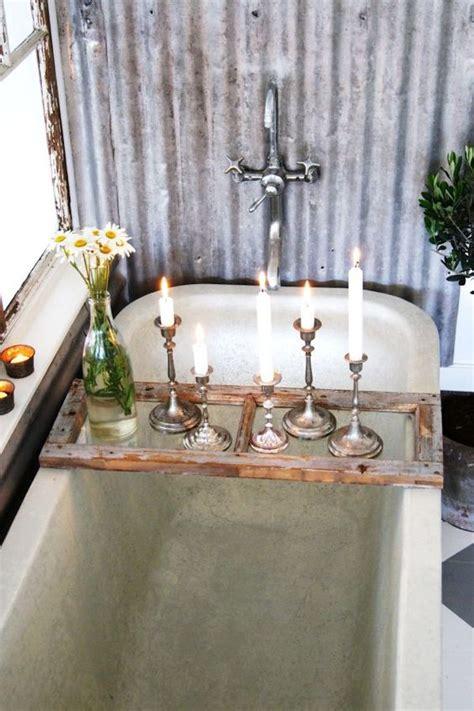 A Perfect Gray Wooden Bath Caddies