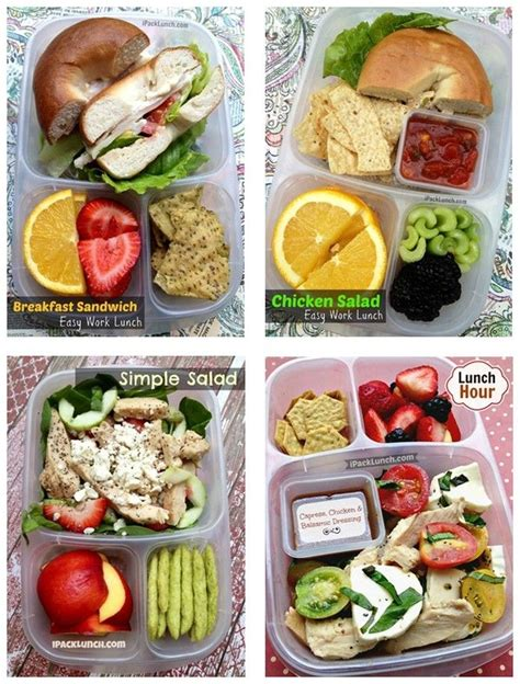 healthy  easy  pack lunch ideas great  packing