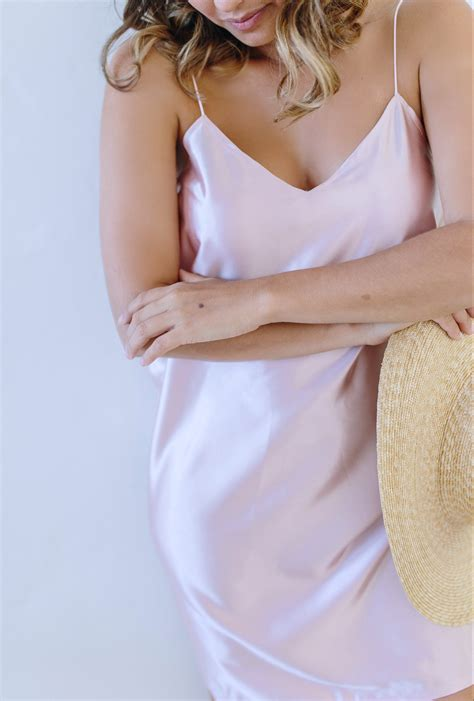 diy silk slip dress  pair  spare