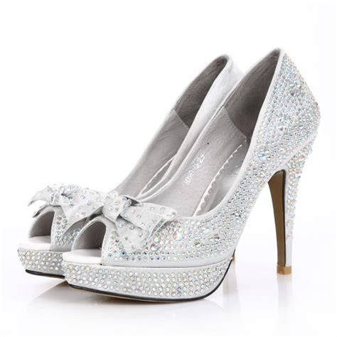 Wedding Shoes In Silver by Best Silver Wedding Shoes Photos 2017 Blue Maize