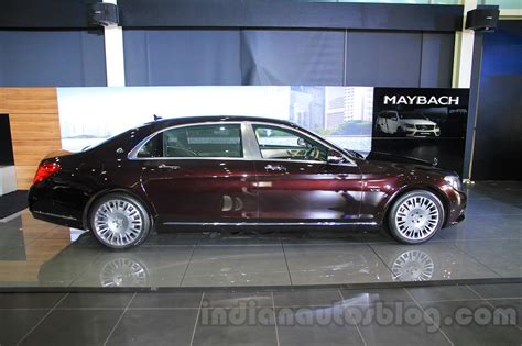 mercedes maybach s600 side india launch indian autos