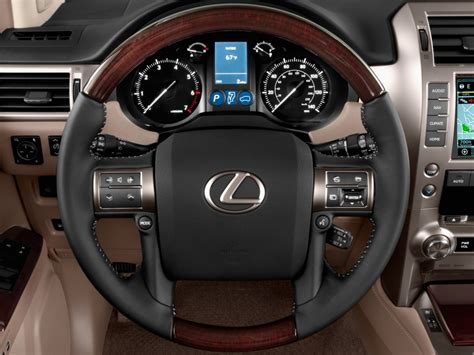 image  lexus gx  wd  door steering wheel size