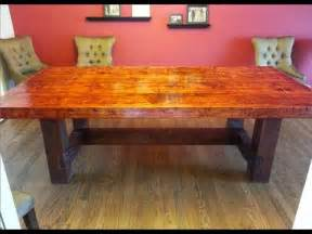 Building Plans Dining Room Table How To Build A Dining Room Table 13 Diy Plans Guide Patterns
