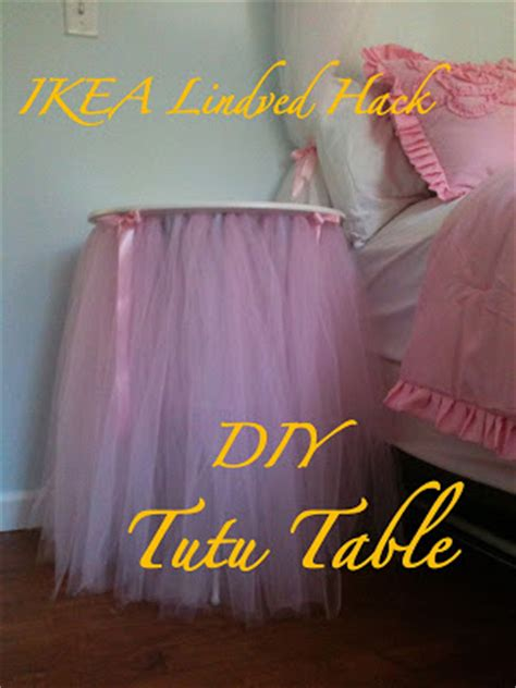 Diy Table And Bed Tutu by The Keating Effect Diy Tutu Table Ikea Lindved Hack