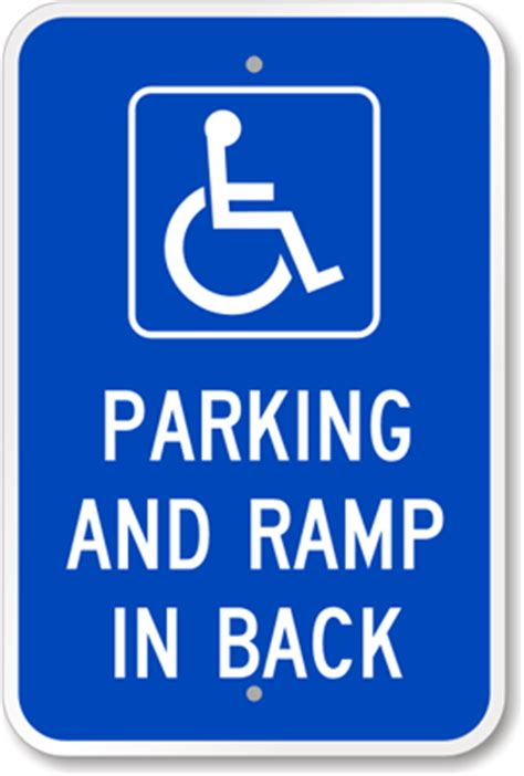 mobile app new signs lights to ease parking woes at fort ada parking signs handicapped parking signs