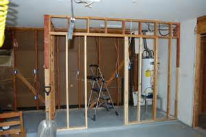 building my laundry room in the garage for the home