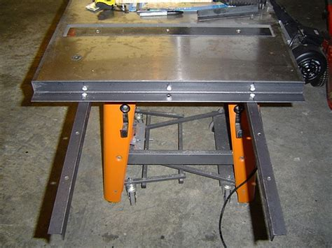 Ridgid Table Saw Ts3650 by Ridgid Ts3650 Table Saw With Router Table Mod Flickr