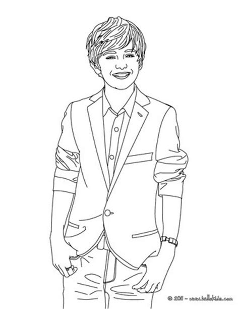 Matty B Coloring Pages greyson chance coloring pages hellokids