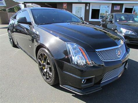 used 2011 cadillac cts v coupe for sale sell used 2011 cadillac cts v coupe 2 door 6 2l in la mesa
