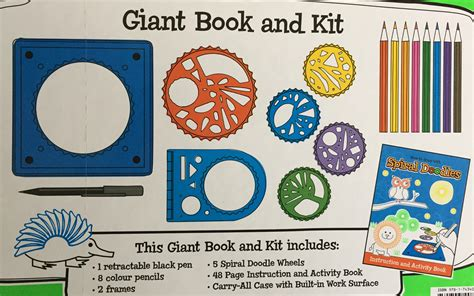 doodle drawing kit new spiral doodle how to draw kit activity book carry