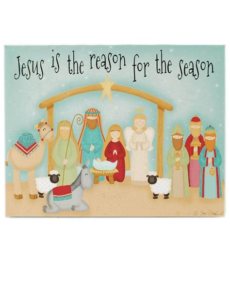 jesus is the reason for the season led christmas decorations jesus is the reason led nativity wall box sign