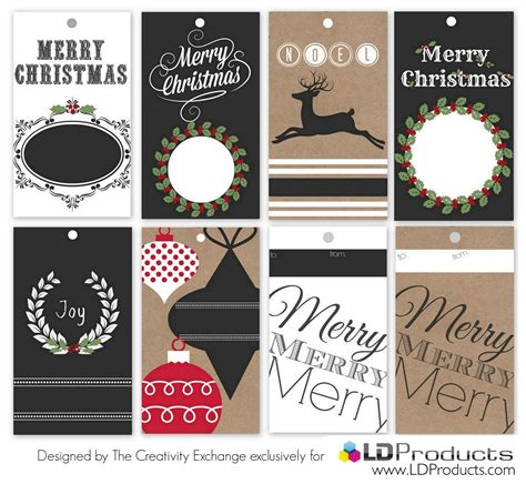 free printable christmas tags that you can type on free printable holiday tags wrapping paper and sign