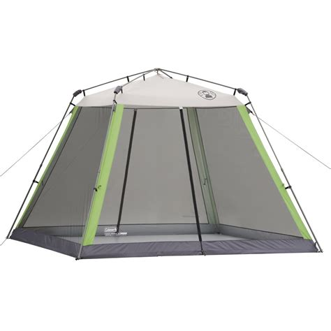 Screened Canopy Coleman 10 X 10 Instant Screened Canopy Green