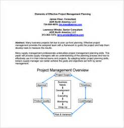 drive project management template 11 project management plan templates free sle