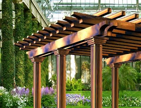 Wrought Iron Pergolas by Wrought Iron Concept Products Pergolas