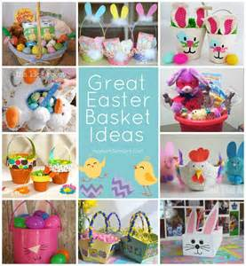 ideas for easter great easter basket ideas