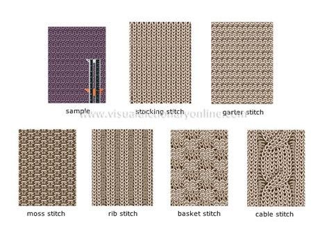 different types of knitting knitting stitches patterns free patterns