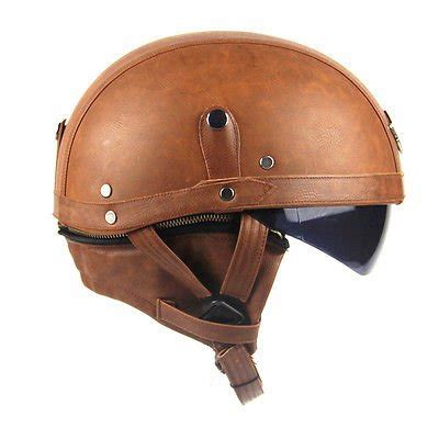 leather motorcycle helmet leather covered half helmets to match your indian indian