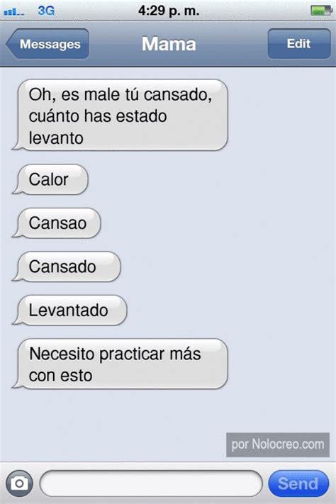 cadenas sms graciosas conversaciones graciosas por whatsapp y sms taringa
