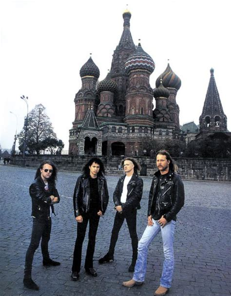 metallica russia ranking de las 35 mejores bandas de rock de la historia