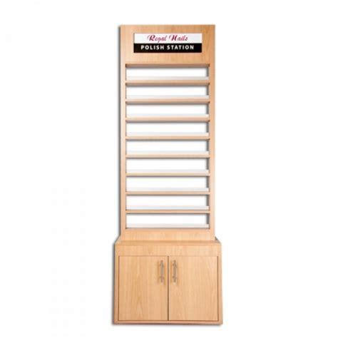 Standing Nail Rack salon furniture wooden stand rack model racps