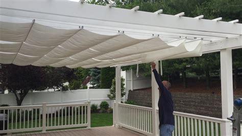 shade one awnings pergola awning canopy installation farmingdale nj by shade