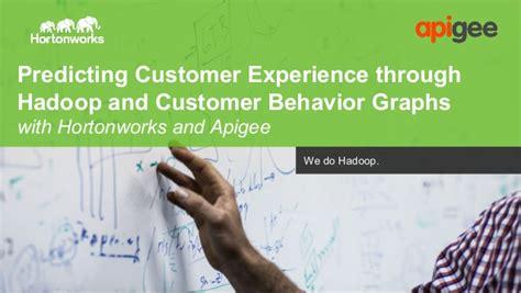 api pattern works inc predicting customer experience through hadoop and customer