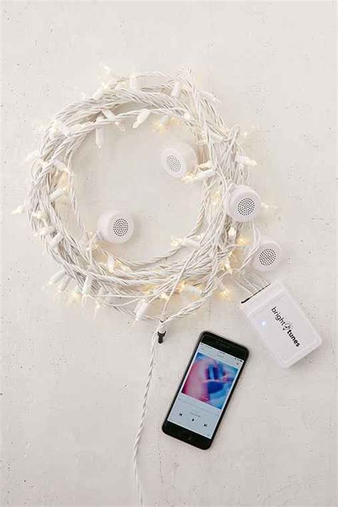 Bluetooth Speaker String Lights Outfitters