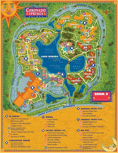 coronado springs resort map disney coronado springs resort car interior design