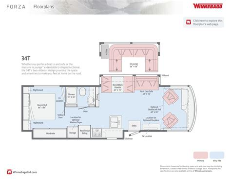 winnebago via floor plans 100 winnebago via floor plans 2013 winnebago