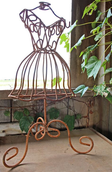 wrought iron decorations home 22 quot wrought iron dress form clothing mannequin jewelry