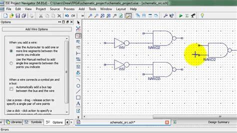 tutorial ise design suite 14 7 basic schematic input tutorial funnydog tv